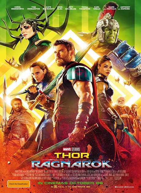 Thor : Ragnarok (2017) ศึกอวสานเทพเจ้า HD