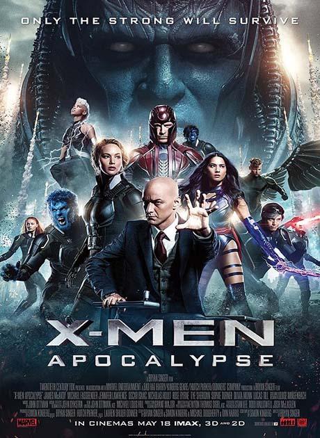 X-Men 8 : Apocalypse (2016) เอ็กซ์เม็น 8: อะพอคคาลิปส์