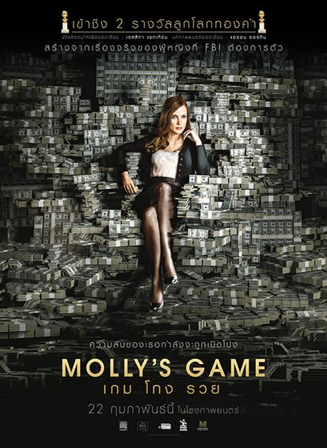 Molly's game (2018) เกม โกง รวย HD