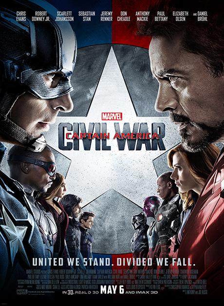 Captain America: Civil War (2016) กัปตัน อเมริกา ศึกฮีโร่ระห่ำโลก HD