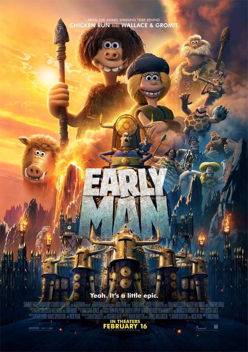 Early Man (2018) เออร์ลี่ แมน HD พากย์ไทย