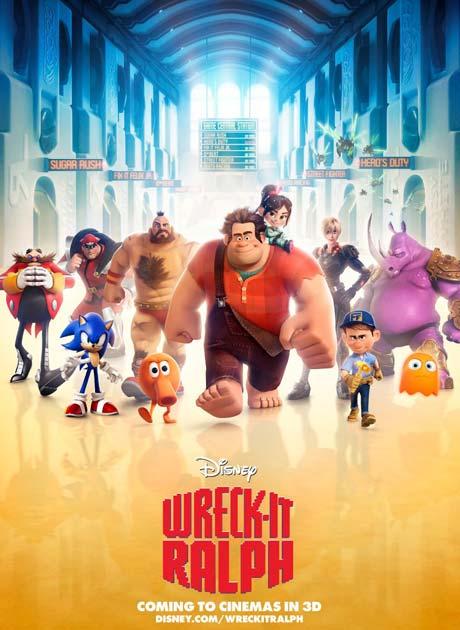 Wreck-It Ralph วายร้ายหัวใจฮีโร่ (2012) HD