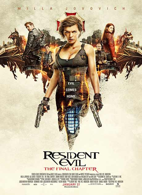Resident Evil 6 The Final Chapter (2017) ผีชีวะ 6 อวสานผีชีวะ HD