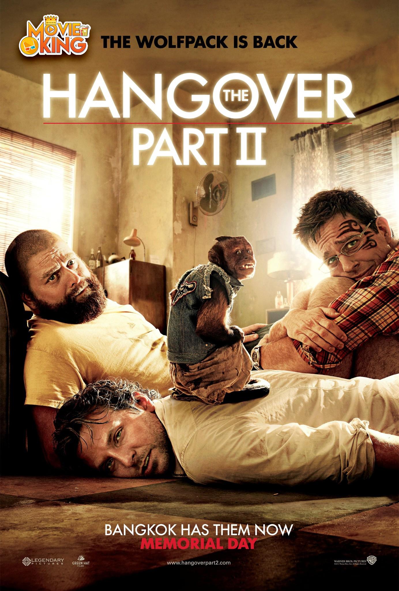 The Hangover II (2011) เมายกแก๊งแฮงค์ยกก๊วน HD