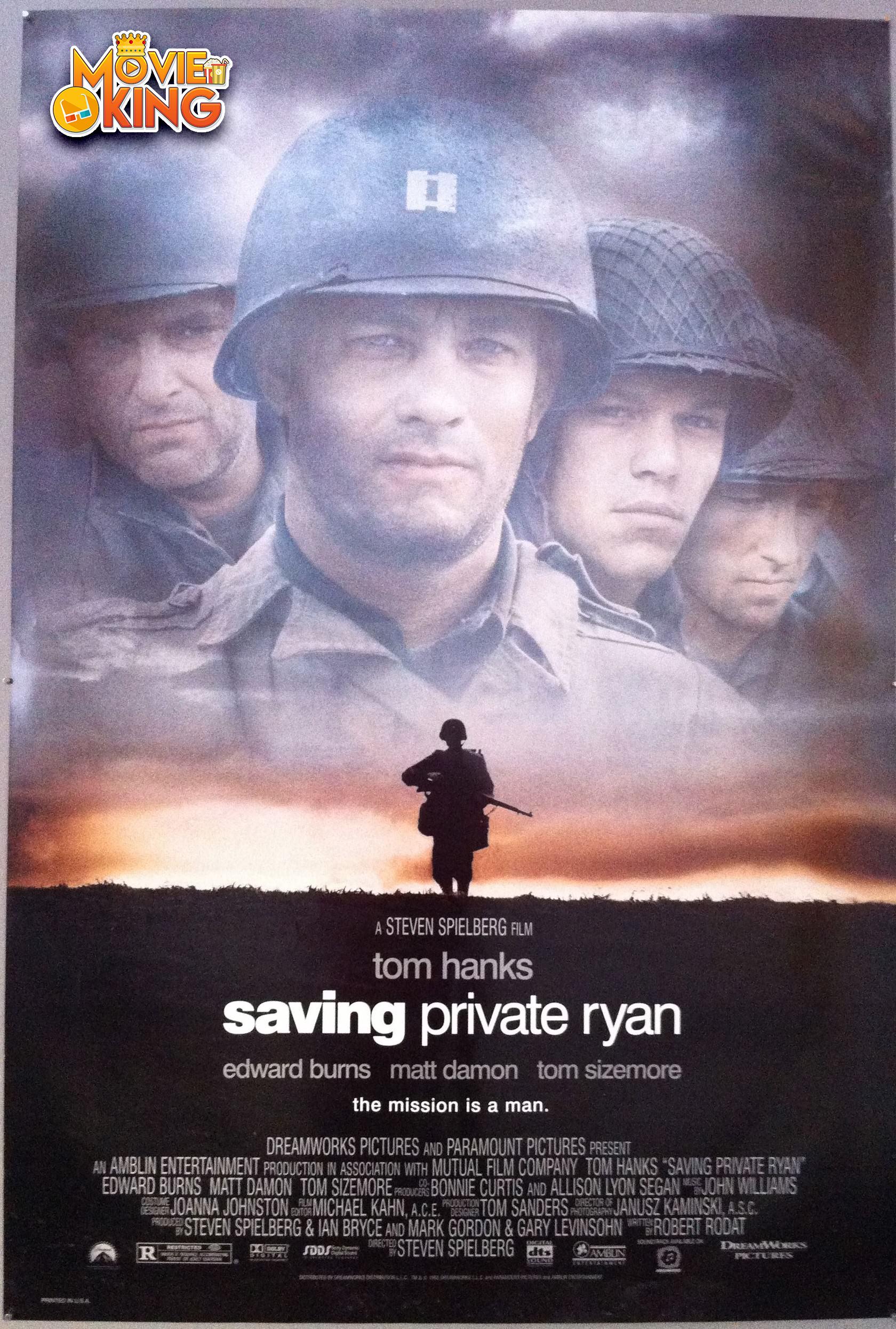 Saving Private Ryan (1998) ผ่าสมรภูมิเดือด HD