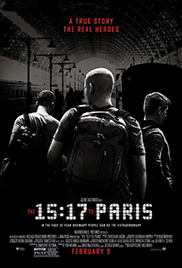 The 15:17 to Paris หยุดด่วนนรก 15:17 HD